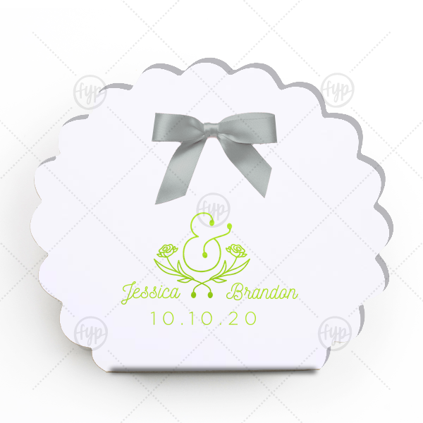 Floral Ampersand Box