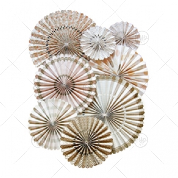 Our Vintage Party Fan will look fabulous with your unique touch. Your guests will agree!