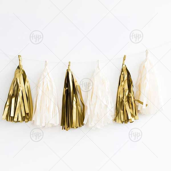 Fancy Tassel Banner | This Fancy Tassel Banner will make your guests swoon. Purchase to match your party's theme today.