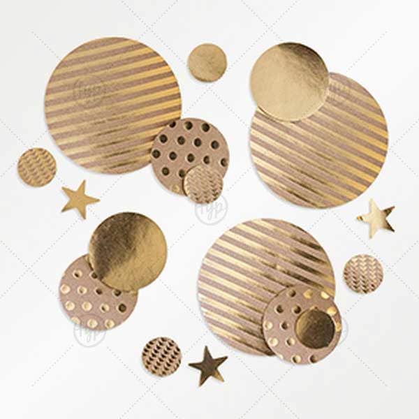 Kraft Confetti | Our beautiful Kraft Confetti is a perfect match your party's exact theme and tempo.