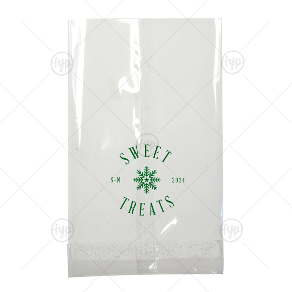 Sweet Treats Snowflake Bag