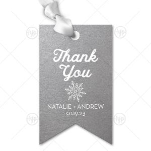 Thank You Snowflake Tag