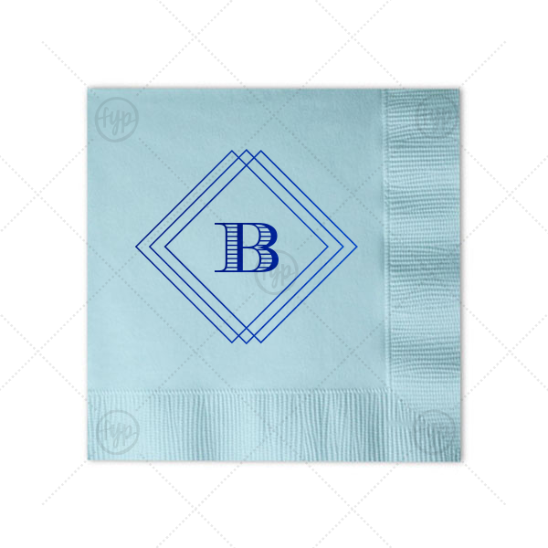 Diamond Frame Napkin