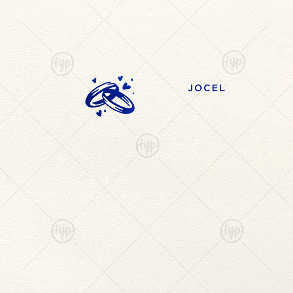 Wedding Rings Foil Envelope