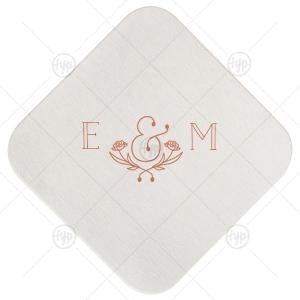 Flower Ampersand Coaster