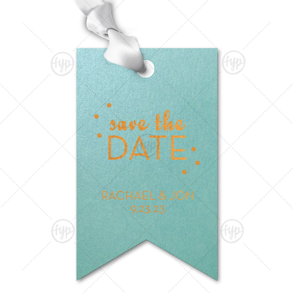 Save the Date Gift Tag