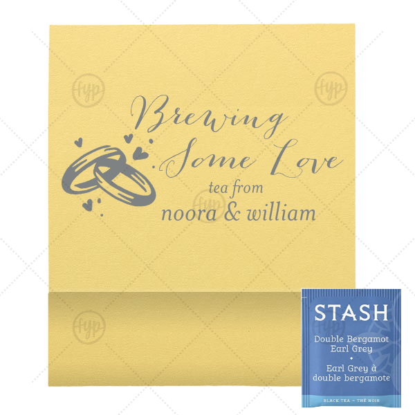 Brewing Love Tea Favor