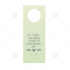 Heart Branch Gift Tag