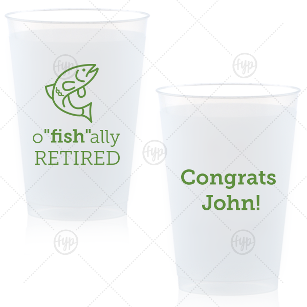 "O""fish""ally Retired Frost Flex Cup 