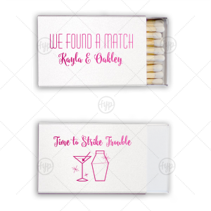 Strike Trouble Match Box