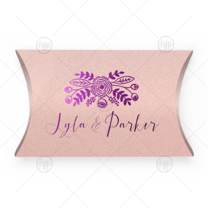 Sweet Flower Pillow Box