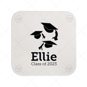 Graduation Cap Coaster