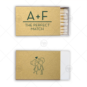 Perfect Match Initials Match