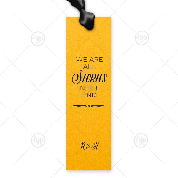 Love Story Bookmark