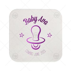 Baby Pacifier Coaster