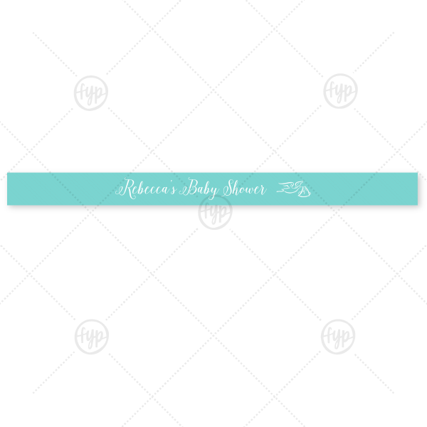 """Baby Shower Ribbon 