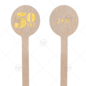 Diamond Ring Anniversary Stir Stick