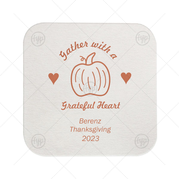 Grateful Heart Coaster