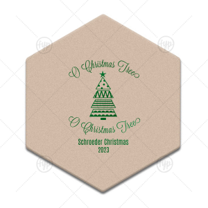 O Christmas Tree Coaster