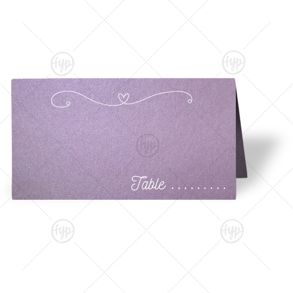 Bachelorette Brunch Card | The ever-popular Stardream Lavender Classic Place Card with Matte White Foil Color has a Rustic Floral Frame 2 graphic and a Rustic Floral Frame 2 graphic and is good for use in Frames themed parties and will look fabulous with your unique touch. Your guests will agree!