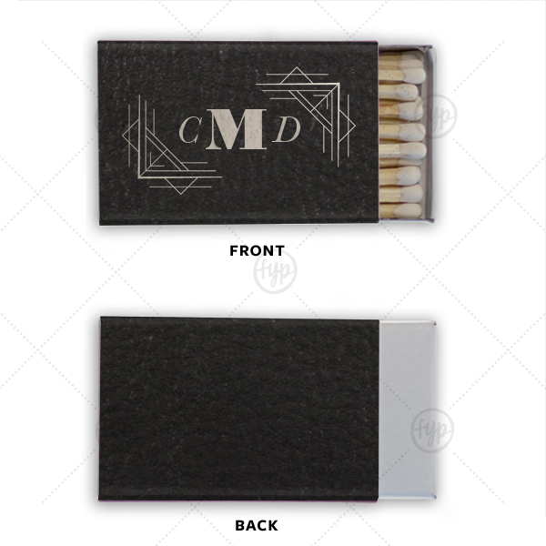 Modern Monogram Leather Match