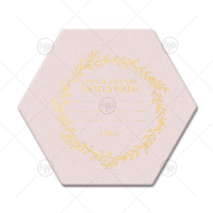 Newlywed Advice Coaster