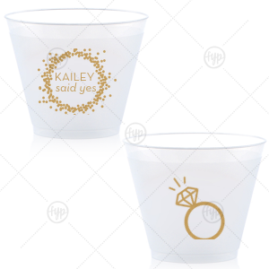 Engagement Ring Cup