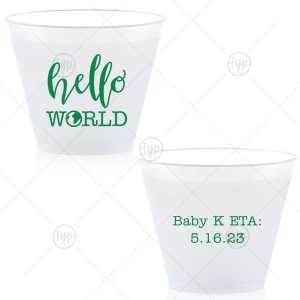 Hello World Baby Cup