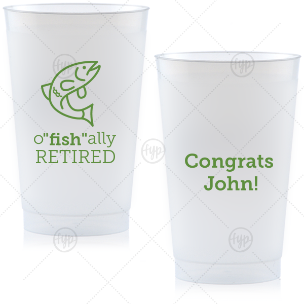 """O""""fish""""ally Retired Cup"""