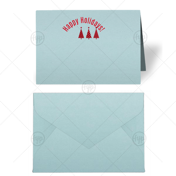 Three Trees Place Card