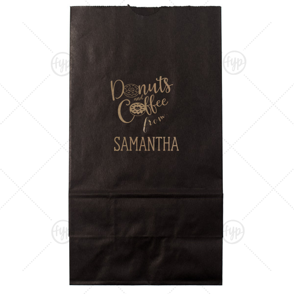 Donuts and Coffee Bag |