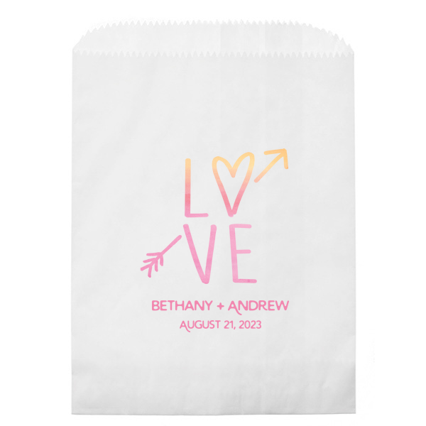 LOVE Photo/Full Color Party Bag |