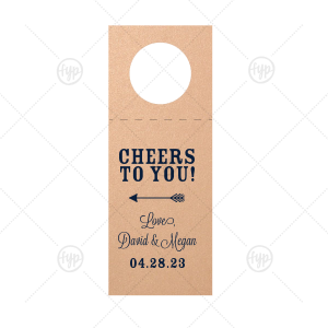 Cheers to You Wine Tag