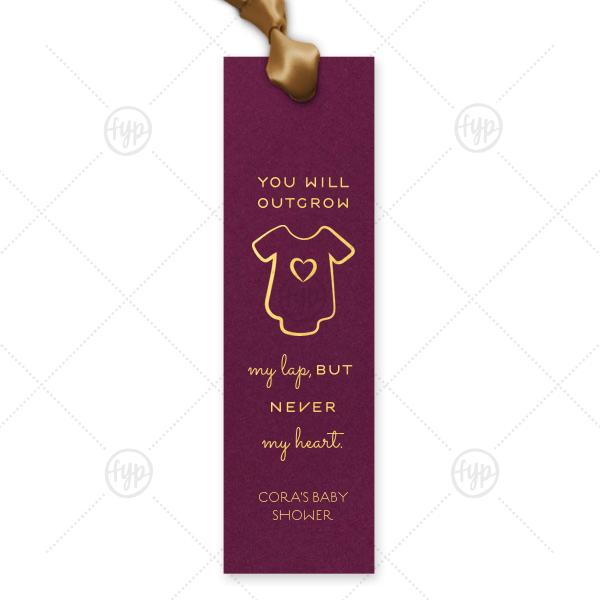 Baby Onesie Bookmark